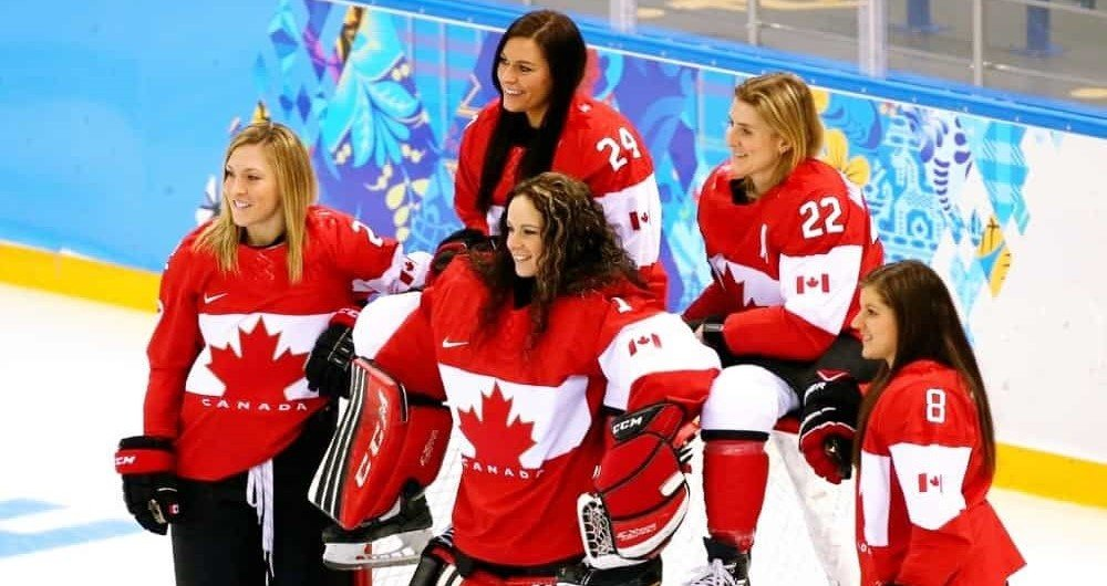 Canadian women`s hockey: the history of famous Awards, League and Championship